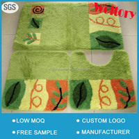 Super Soft jacquard bath mat set/modern bath rug set/custom size bath rugs