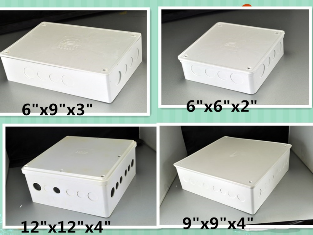 """LANGLI ""2017"" the hot sell pvc electrical waterproof junction boxes with cover 270x270x100mm"