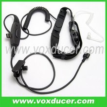 walkie talkie accessories throat vibration microphone vox ptt microphone