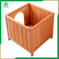 Garden/Backyard decorative Wooden small animal Pet House, dog shed in/oudoor