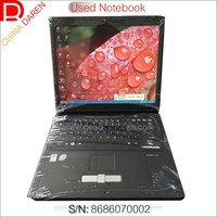 Shenzhen Cheap second hand 15 inch LCD Core 2 Duo 2G RAM 160G laptop used notebook with wifi