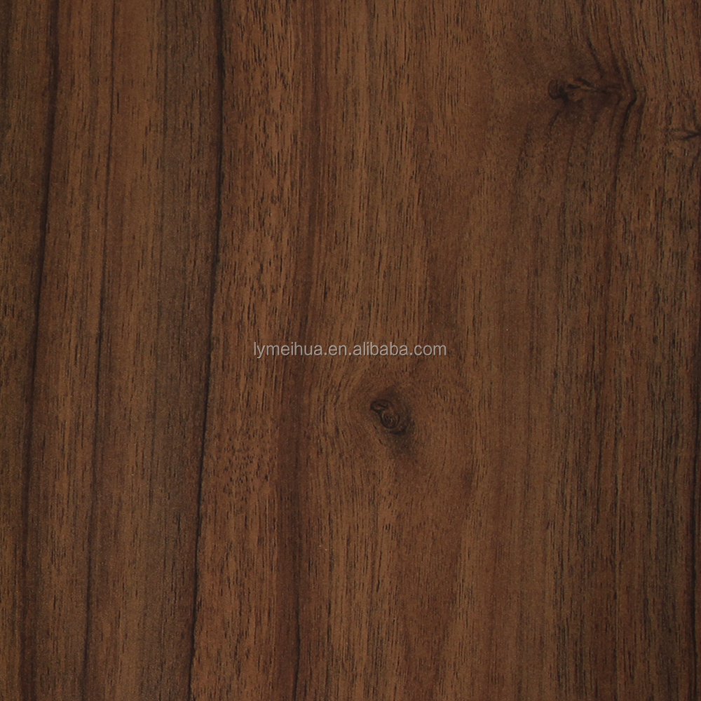 new design wooden laminated paper for hpl or mdf
