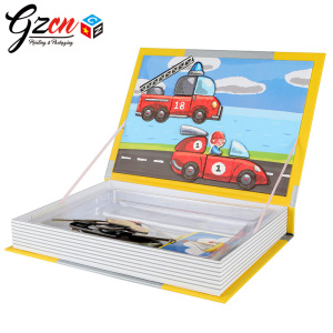 cheap price custom 3D cards Magnet book for kids