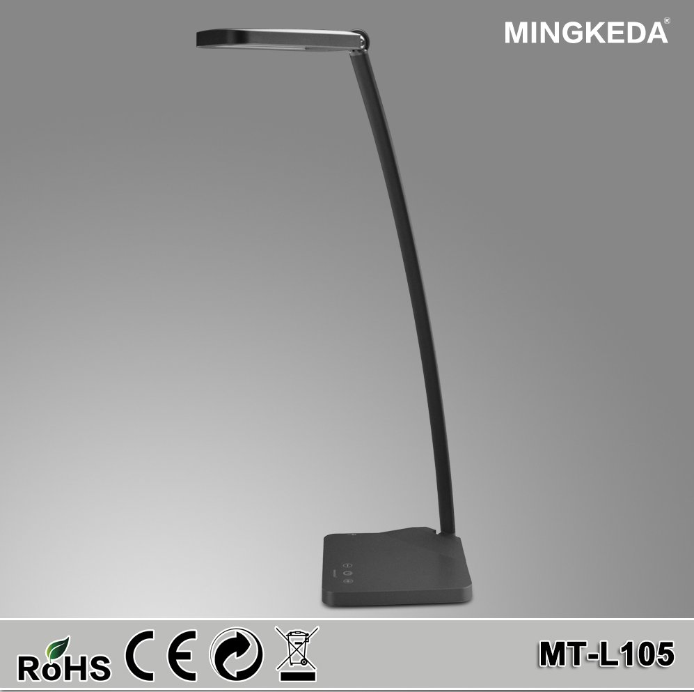 2016 Modern Dimmable LED Table Lamp / desk lamp/ led light with USB Port