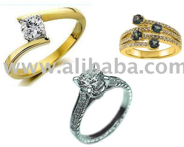 Ring, Engagement Ring & Wedding Rings