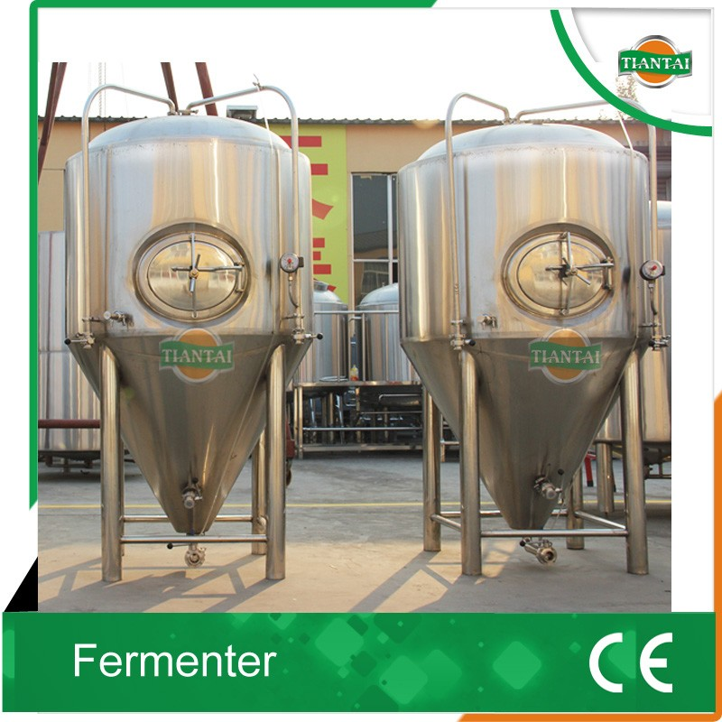 stainless steel beer fermentation tank and beer brewhouse
