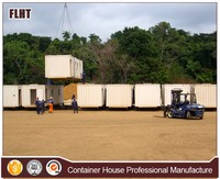 China portable labor camp mobile container toilet camp