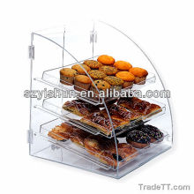 Customized acrylic cupcake display acrylic cupcake bakery display