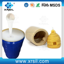 RTV2 liquid silicone for candle mold making