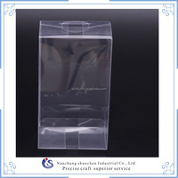 plastic transparent PVC packing box