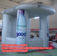 inflatable exhibition booth tent, inflatable trade show tents for outdoors promotion