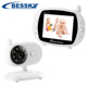 3.5 inch LCD 2.4GHz Wireless Surveillance Camera Baby Monitor with 8-IR LED Night Vision
