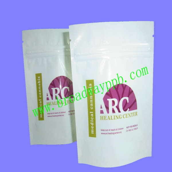 printed matte finish foil whey protein powder concentrate packaging bags