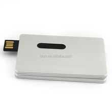 credit card usb flash drive u disk pen drive 2.0 ultra thin portable exquisite gift