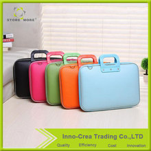 Alibaba Best Sellers OEM Colourful Professional 14 Inch Notebook Bag / Leather Laptop Bag