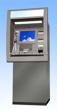 Wall through ATM machine with printer and card dispenser/multifunctional ATM with bank card