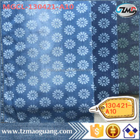 4.42OZ light weight printed denim fabric 100% cotton cheap price