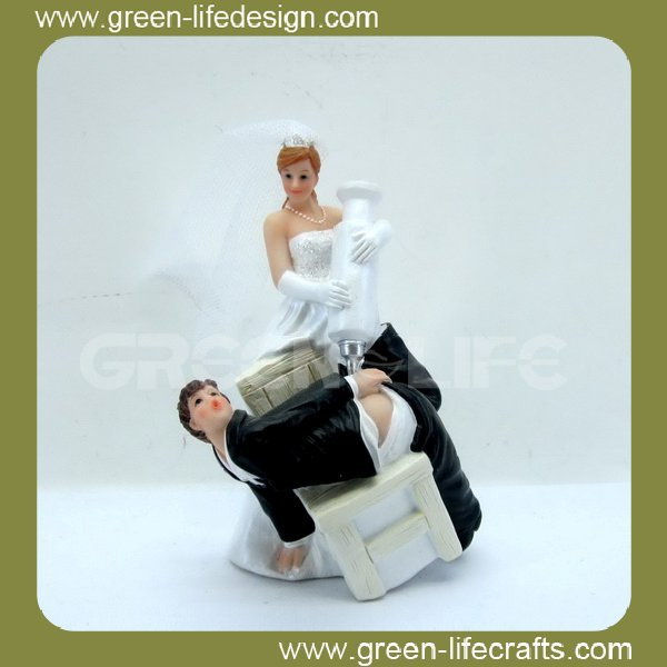 """Just Married ""cake topper for wedding"
