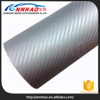 1.52*30M Wholesale Air Free 0.18MM 3D Carbon Fiber Vinyl Film