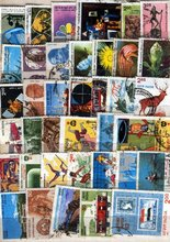 Postage stamps collection- 30 complete years