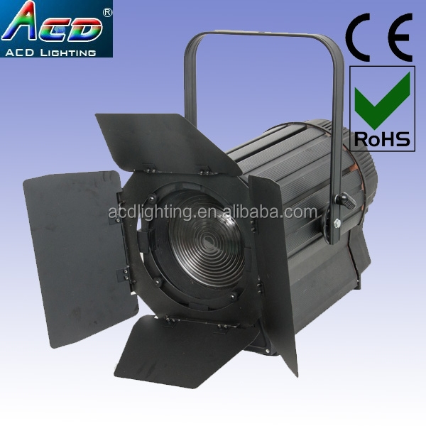 LED video studio fresnel spot light 300w