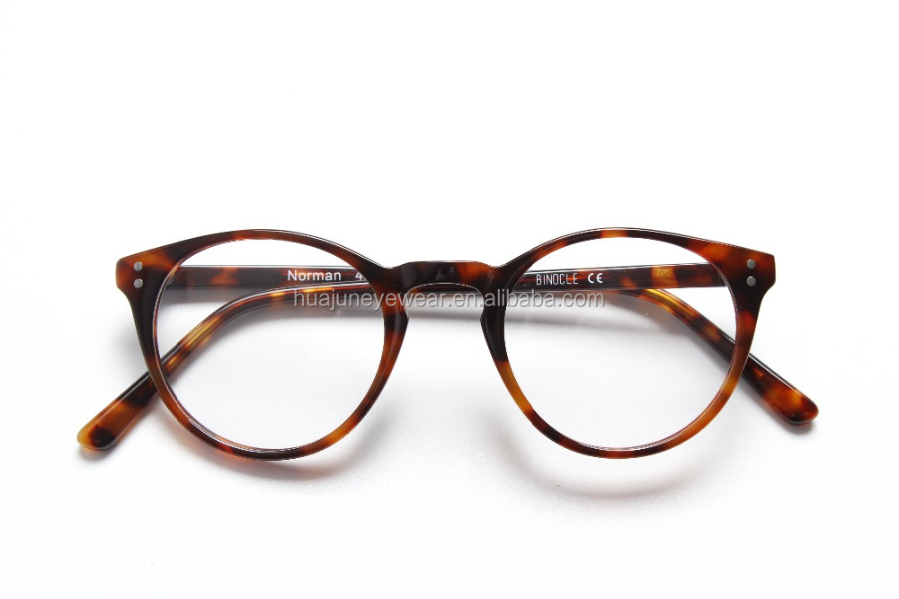 Manufacturers acetate optical frame round Retro Optical Eyeglasses,nice eyeglasses optical frame