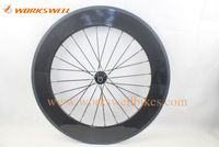 2015 Chiese newest full carbon wheel 700C POWERWAY R13 hub+aero spokes+quick release carbon road bike wheels