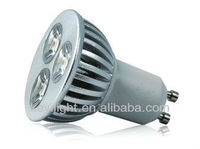 3W high quality GU10 led spotlight with CE & Rohs