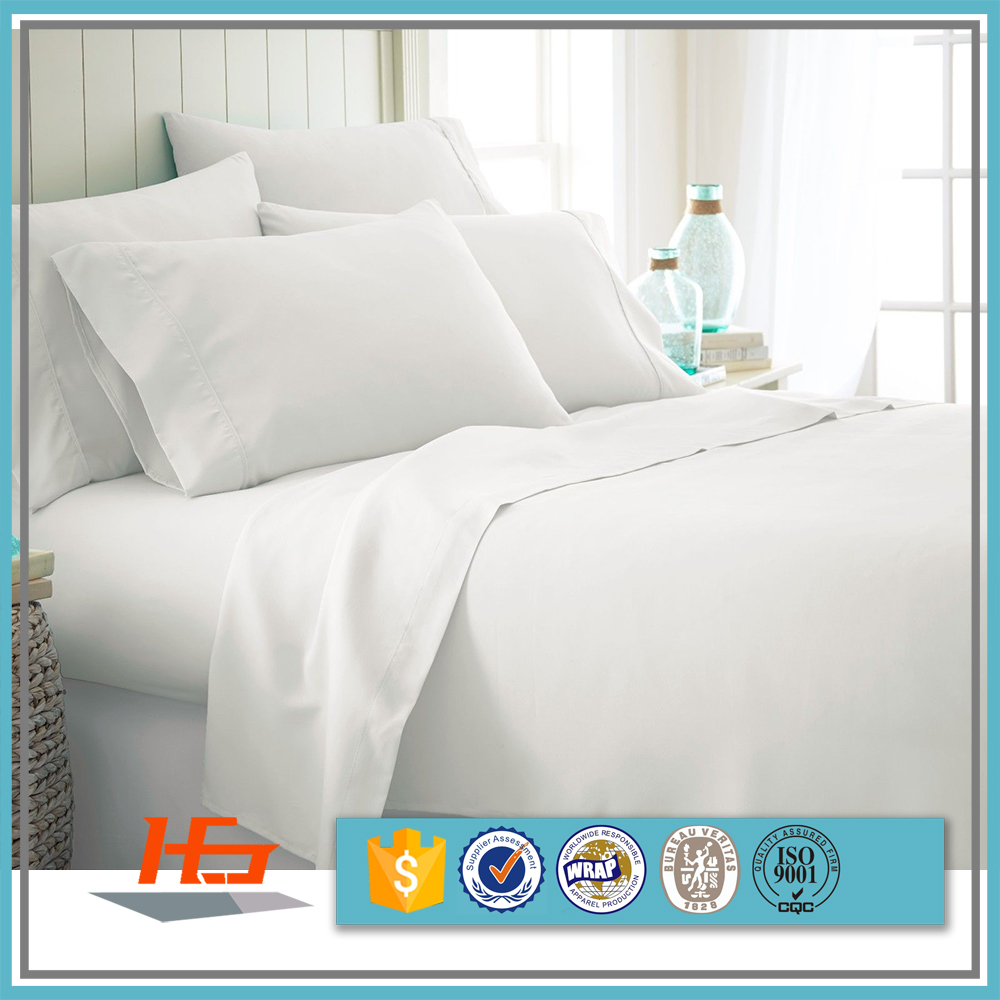 Wholesale White 100% Cotton 200 TC King Size Bed Flat <strong>Sheet</strong>