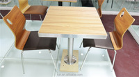 Knock down packing hot sale restaurant furniture tables and chairs (FOH-CXSC61)