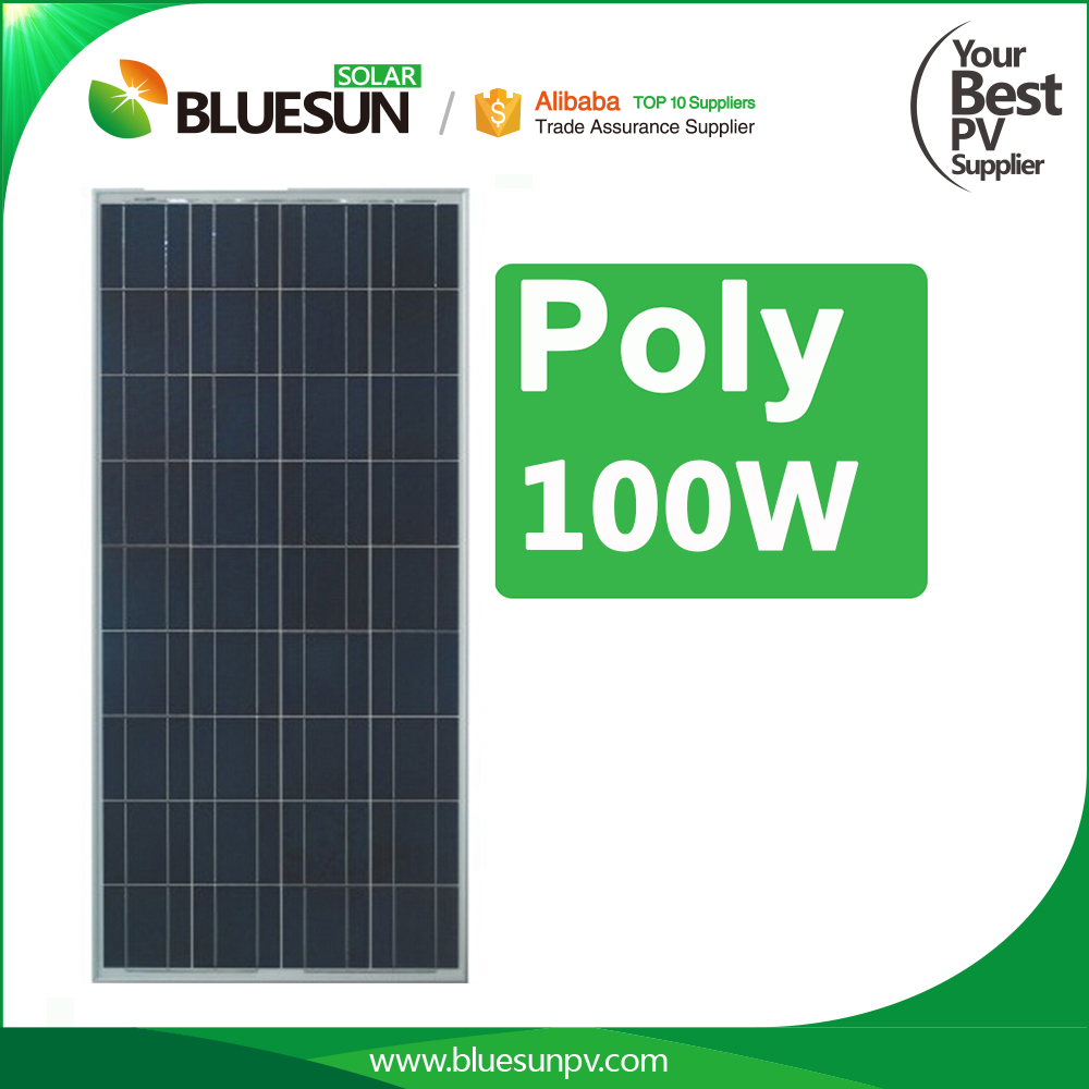 China best pv supplier color thin film 100w 12V solar panel