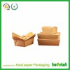 Hotsale Paper lunch box good quality paper fast food box disposal paper lunch box