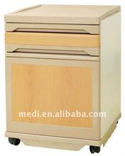 YA-0114 ABS and steel structure hospital night stand