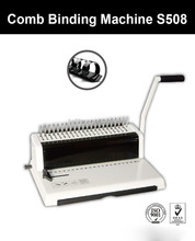 S508 A4 Size Mini Comb Binding Machine