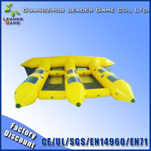 6 person inflatable flying manta ray for water game