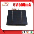 165X135MM Mini Solar Panel 6V with Red and Black Wire
