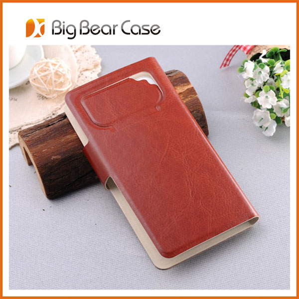 Flip leather with card holder protective case for s9920