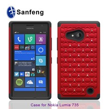 Gel Covers Phone Rubber Silicone Case For Nokia Lumia 735 Plastic Cover