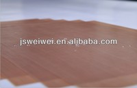 China supplier ptfe coated fiberglass fabric with RoHS PFOA PFOS and FDA certificate at different thickness