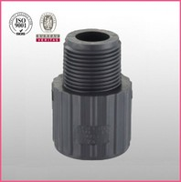 High Quality Pvc Pipe Fitting sch80 Upvc Male thread quick connect Adapter Flexible Joint for water