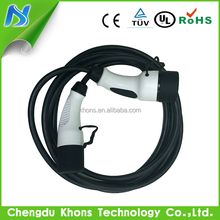 OEM IEC62196-2 ev charging cable mode 3 ev cable type 2 female to male 16a 32a three phase 22kw charging cables