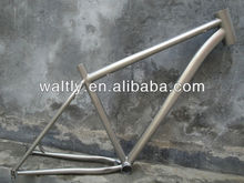 29er Titanium MTB Sandblasted Ti Bicycle Frame