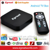 EGREAT U8 Android 4.2 Quad Core smart tv box RK3188 2G 8G blu ray media player