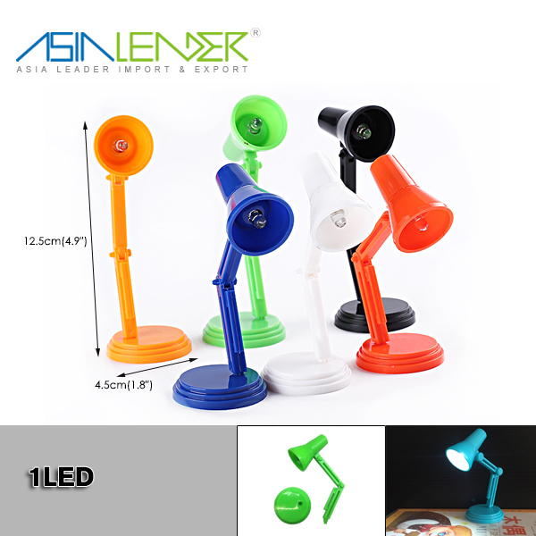 Modern 2 in 1 Mini LED Book Desk Lamp Light Novelty Table Reading Laptop Light
