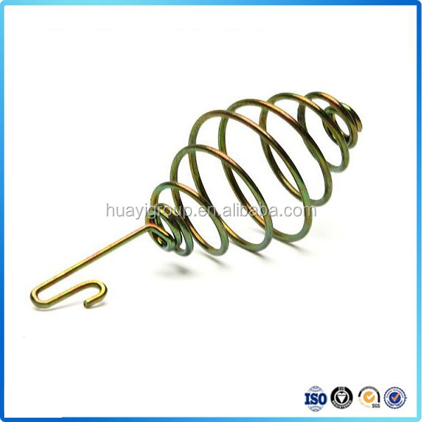 custom high quality stainless steel conical compression spring
