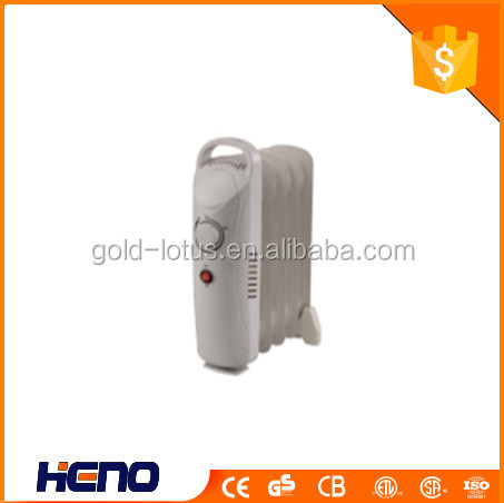 CE GS Mini Oil Filled Radiator Heater/ Room oil-filled heater radiator/700W oil filled radiator heater