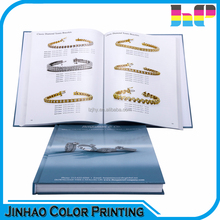 Square spine full color hardcover book CMYK printing