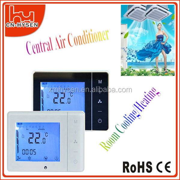 LCD touch screen room electronic thermostat
