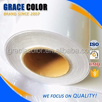 Solvent inkjet media, manufacture supply adhesive sticker