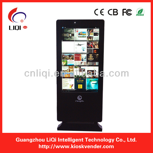"Outdoor Floor Standing LCD/LED Advertising Kiosk, 42""-70""LCD/LED Advertising Equipment, Outdoor LCD/LED Advertising Displayer"